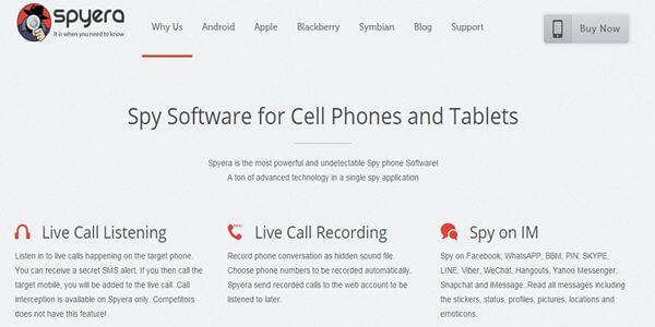 Spyera website besthandyspy