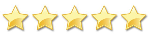 5 stars shiny