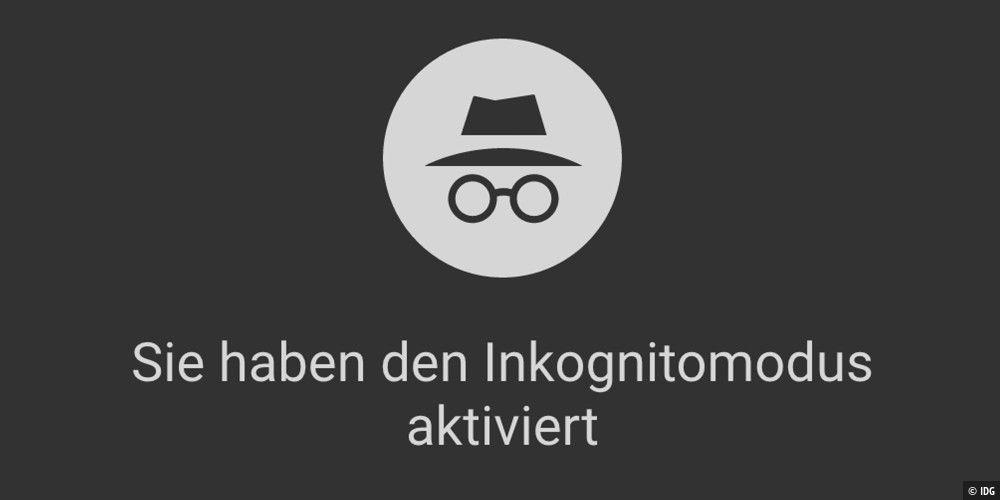 Inkognito-Modus im Browser